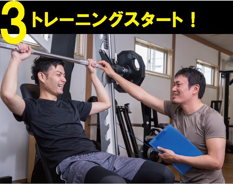 3.トレーニングスタート